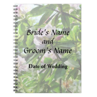 The Rhododendrons Are In Bloom Wedding Products Notebook