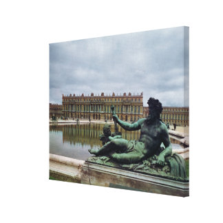 The Rhone fountain by Jean-Baptiste Tuby Gallery Wrapped Canvas
