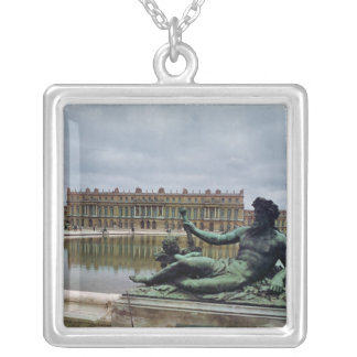 The Rhone, fountain by Jean-Baptiste Tuby Silver Plated Necklace