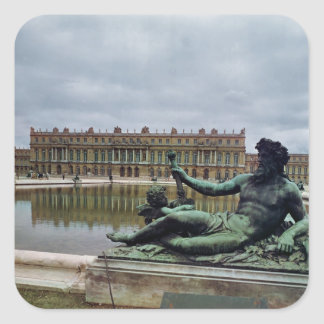 The Rhone, fountain by Jean-Baptiste Tuby Square Sticker