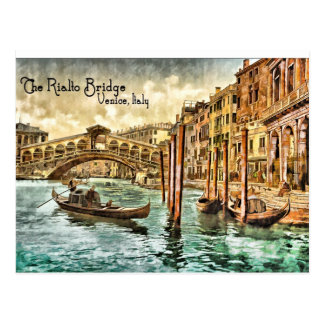 The Rialto Bridge Postcards