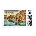 The Rialto Bridge Stamp