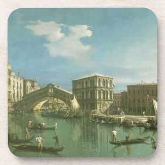 The Rialto Bridge, Venice Beverage Coaster