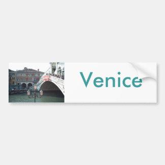 The Rialto Bridge,Venice Bumper Sticker