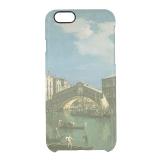 The Rialto Bridge, Venice Clear iPhone 6/6S Case