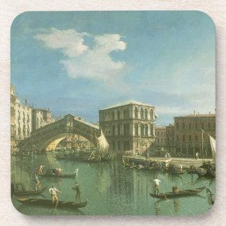 The Rialto Bridge Venice Drink Coasters