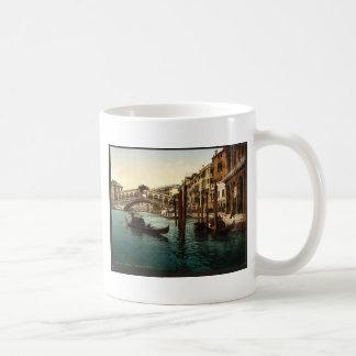 The Rialto Bridge, Venice, Italy classic Photochro Coffee Mug