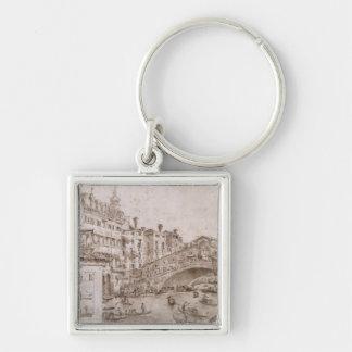 The Rialto Bridge, Venice Keychain