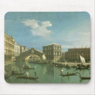 The Rialto Bridge, Venice Mouse Pad