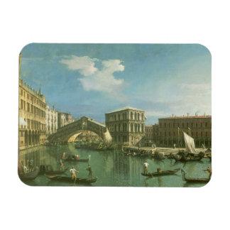 The Rialto Bridge, Venice Rectangular Photo Magnet