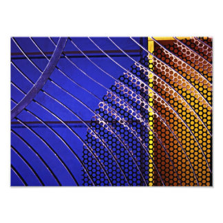 The Ribbed Gate. Art Photo