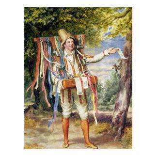 The Ribbon Seller, 1874 Postcard