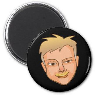 The Rich 2 Inch Round Magnet