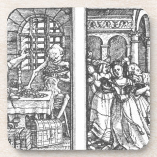 The Rich Man The Queen by Hans Holbein the Younger Coaster