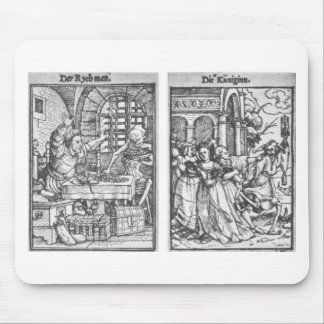 The Rich Man The Queen by Hans Holbein the Younger Mouse Pad