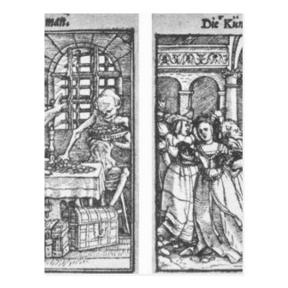 The Rich Man The Queen by Hans Holbein the Younger Postcard