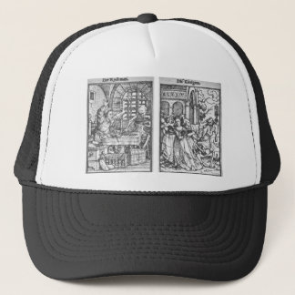 The Rich Man The Queen by Hans Holbein the Younger Trucker Hat