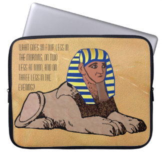 The Riddle of the Sphinx Laptop Sleeves