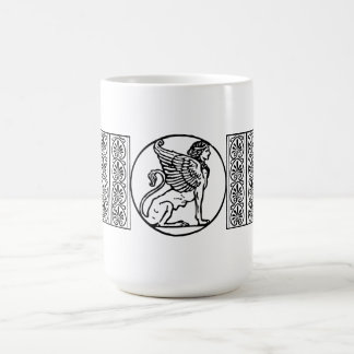 The Riddle of the Sphinx! Classic White Coffee Mug