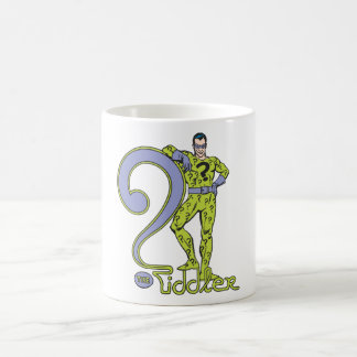 The Riddler & Logo Green Coffee Mug