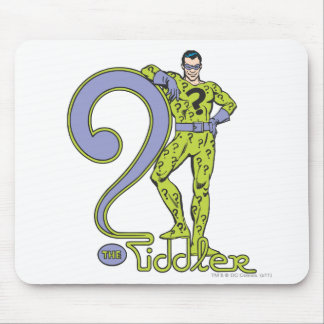 The Riddler & Logo Green Mouse Pad