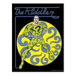 The Riddler & Logo Purple Postcards