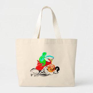 The Ride Jumbo Tote Bag
