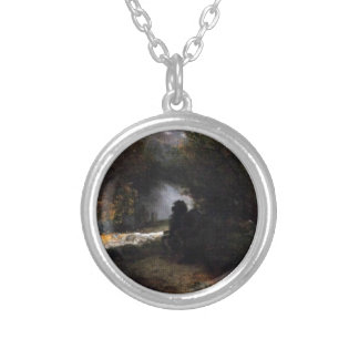 The Ride of Death (The Fall and Death) by Arnold Round Pendant Necklace