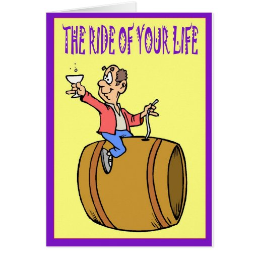 The ride of your life card