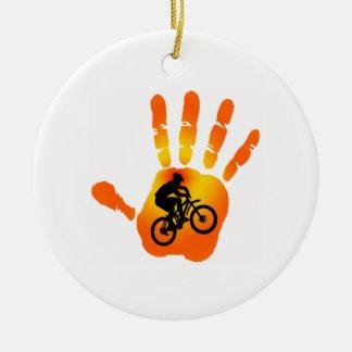 Bmx ornaments keepsake ornaments zazzle - Ornament tapete weiay ...
