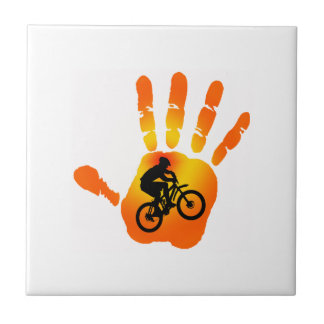 THE RIDE WAY SMALL SQUARE TILE