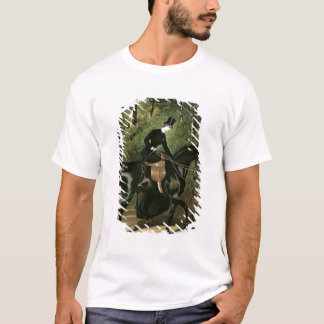 The Rider Kipler on her Black Mare T-Shirt