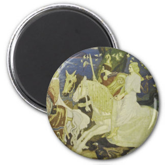 The Riders of the Sidhe 2 Inch Round Magnet