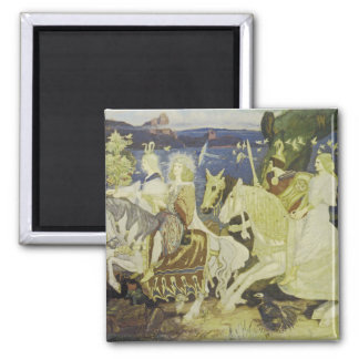 The Riders of the Sidhe 2 Inch Square Magnet