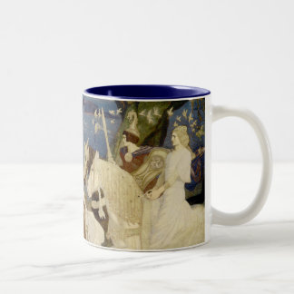 The Riders of the Sidhe Two-Tone Coffee Mug