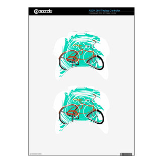 THE RIDERS WAY XBOX 360 CONTROLLER DECAL