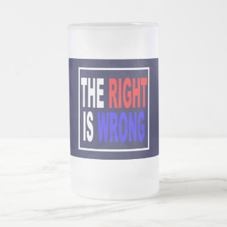 The Right Is Wrong Coffee Mugs