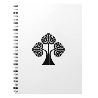 The right it leaves and stands the mallow notebook