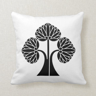 The right it leaves and stands the mallow throw pillow