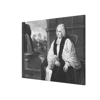 The Right Reverend George Berkeley Canvas Print