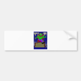 The Right Royal Wartarth Great Goblin King Bumper Stickers