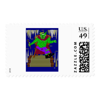 The Right Royal Wartarth Great Goblin King Stamps