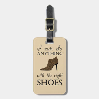 The Right Shoes Bag Tag
