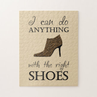 The Right Shoes Jigsaw Puzzles