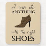 The Right Shoes Mouse Pad at Zazzle