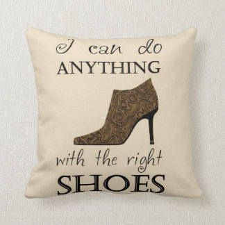The Right Shoes Pillow