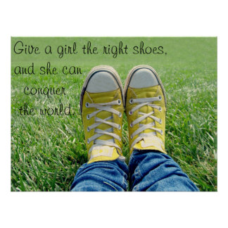 The Right Shoes Poster