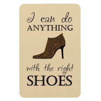 The Right Shoes Rectangular Photo Magnet