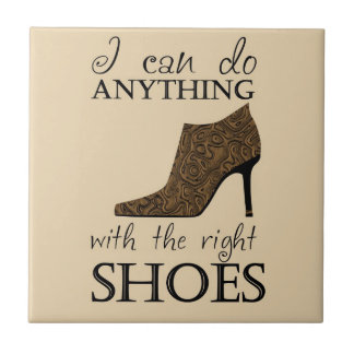 The Right Shoes Tile
