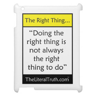 The Right Thing iPad Covers